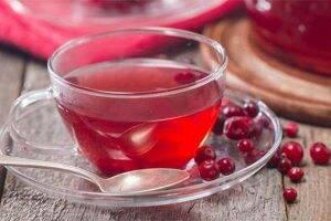 ceai de merisor scoarta