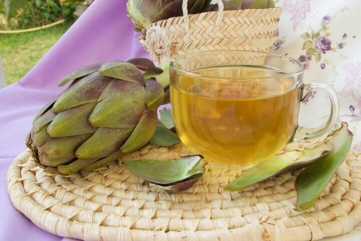 preparare-ceai-de-anghinare
